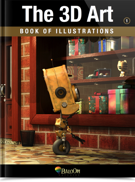 The 3D Art - Book of Illustrations