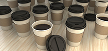 Coffee Cups - 3D Rendering
